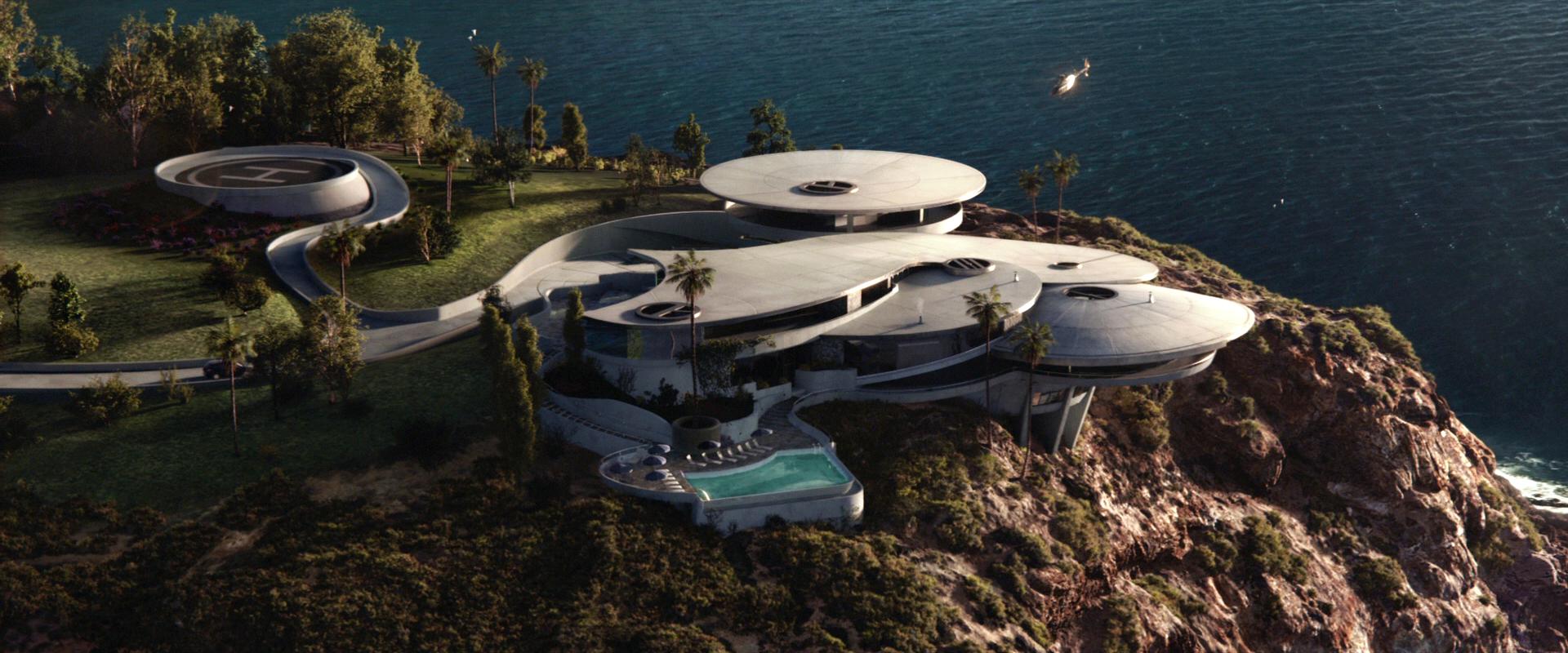 Tony Stark S Mansion Marvel Movies Fandom Powered By Wikia