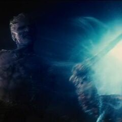 Laufey uses the Casket of Ancient Winters.