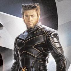 Logan in his X-Men uniform