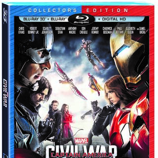 Captain America: Civil War 3D Blu-Ray Combo