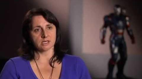Iron Man 3 Set Interview Victoria Alonso Exec Producer