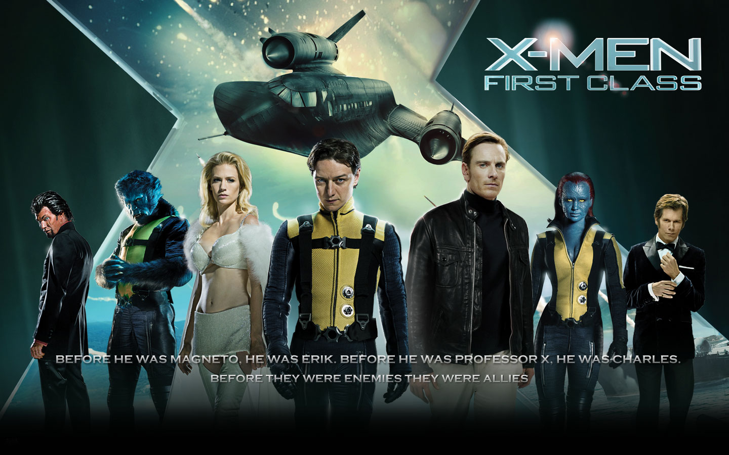 Image - X-Men-First-Cl... X Men First Class Magneto And Mystique