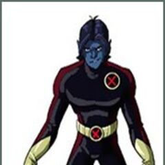 Adult Nightcrawler in Xavier's vision.
