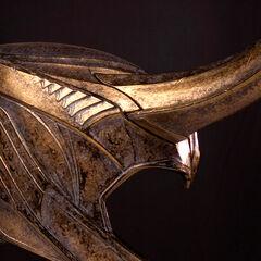 Loki's helmet from <i>The Avengers</i>.