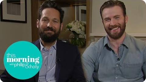 Chris Evans And Paul Rudd Talk Captain America Civil War This Morning