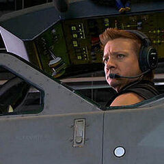 Hawkeye (Jeremy Renner).