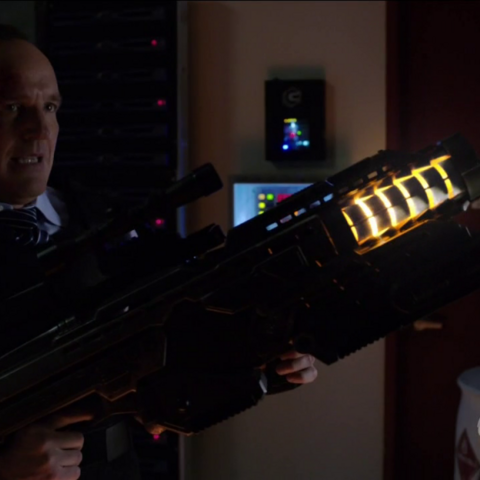 Coulson using the Weapon.