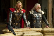 Thor Odinson and Odin Borson