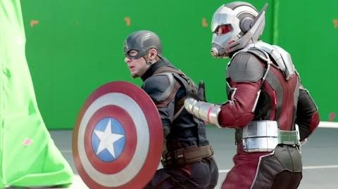 CAPTAIN AMERICA CIVIL WAR B-Roll Footage 2 (2016) Marvel Movie HD