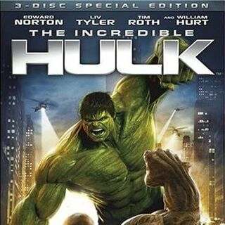 The Incredible Hulk 3 Disc edition