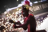 Fireman Spider-Man