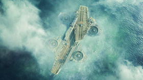 Helicarrier rises