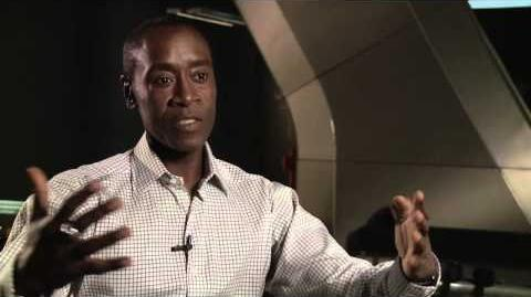 "Marvel's Avengers Age of Ultron Don Cheadle ""Colonel James Rhodes War Machine"" Interview"