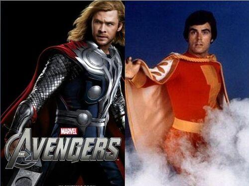 Thor Vs. Shazam