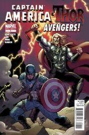 Captain America & Thor Avengers