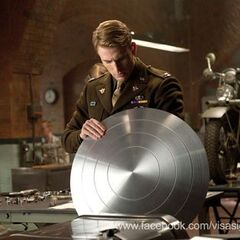 Steve gets an upgraded Shield.