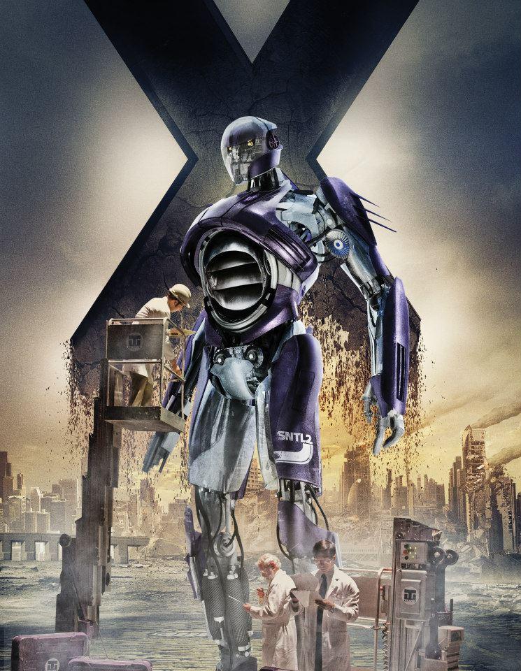 Past Sentinel 01 X Men Days Of Future Past Sentinels