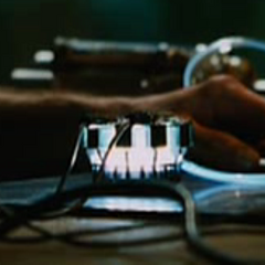 Tony's first Arc Reactor.