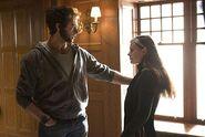 Logan (Hugh Jackman) and Rogue (Anna Paquin)