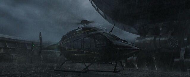 File:Stark Industries Helicopter The Raft Helipad Captain America Civil War (2).JPG