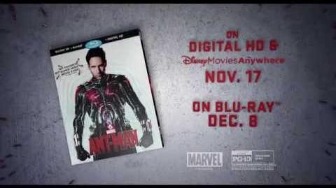 Marvel's Ant-Man - Blu-ray Trailer