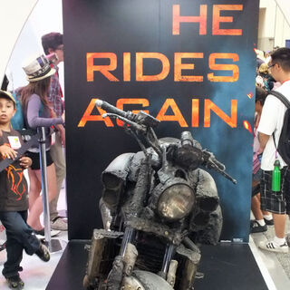 The Hellcycle at Comic-Con.