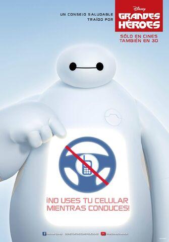 File:Big Hero 6 Spanish No Cellphones Poster.jpg