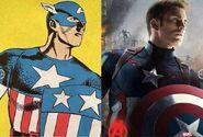 Captain America-comic comparison