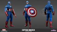 MarvelHeroes ModelSheet CaptainAmerica Avengers