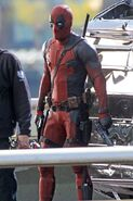 Deadpool Filming 30