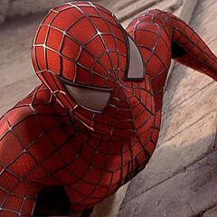 Spider-Man Climbing a Wall of the Goblin Attack.