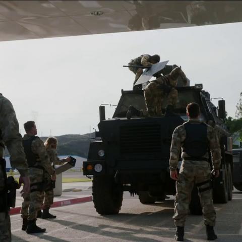 HYDRA Deathlok soldiers.