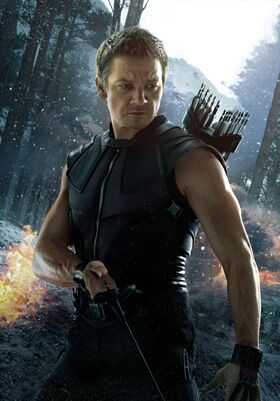 Avengers hawkeye textless poster