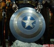Captain America Sheild Blue and White