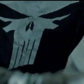 The Punisher's shirt