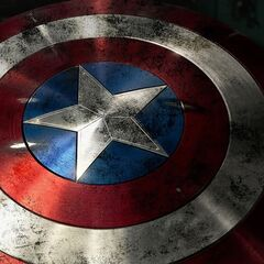 Captain America's battered shield from <i>The Avengers</i>