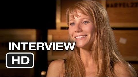 Iron Man 3 Interview - Gwyneth Paltrow (2013) - Robert Downey Jr