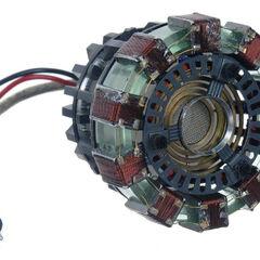 Tony Stark's first mini Arc Reactor.