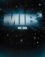 Men in Black III teaser poster