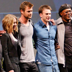The Avengers cast.