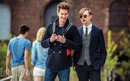 TASM2 Peter Parker and Harry Osborn