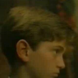 Tadzio De Santis as a boy.