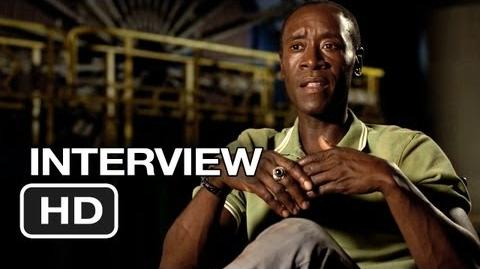 Iron Man 3 Interview - Don Cheadle (2013) - Robert Downey Jr