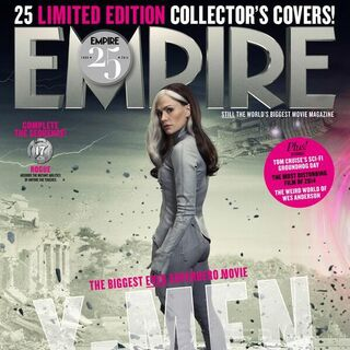 Future Rogue on the cover of <i>Empire</i>.