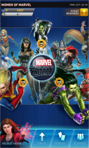 Women of Marvel Event Screen