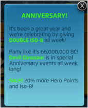 Anniversary Announcement