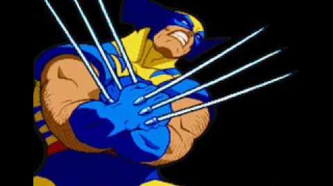 Marvel Super Heroes Vs Street Fighter-Theme of Wolverine