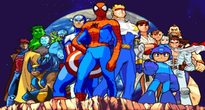 Marvel vs. capcom, lo mejor de las maquinitas de los 90's
