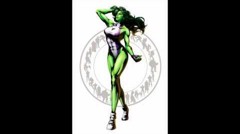 Marvel VS Capcom 3 - She-Hulk Theme