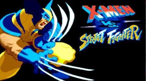 X-Men vs Street Fighter Music - WOLVERINE